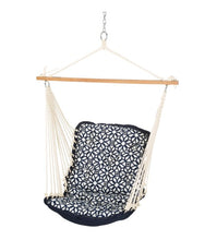 Luxe Indigo  Tufted Single Swing