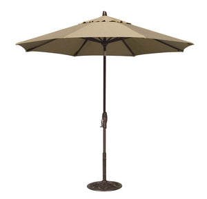 Treasure Garden 9' Auto Tilt Patio Umbrella