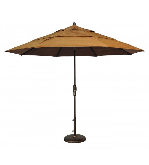 11' OCTAGON MARKET UMBRELLA AUTO TILT WITH DOUBLE WIND VENT