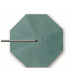 "Shademaker 13'1"" Octagon (Round) Orion Cantilever Sea Green"