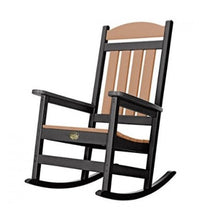 Porch Rocker Black/Cedra