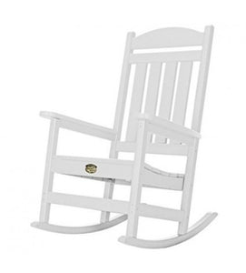 Porch Rocker White