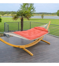Hatteras Hammock Large Tufted Hammock - Hanging hardware and chain