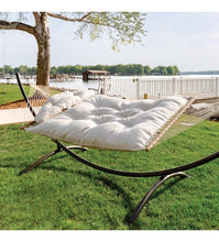 Hatteras Hammock Large Tufted Hammock With Zinc Plated Chain