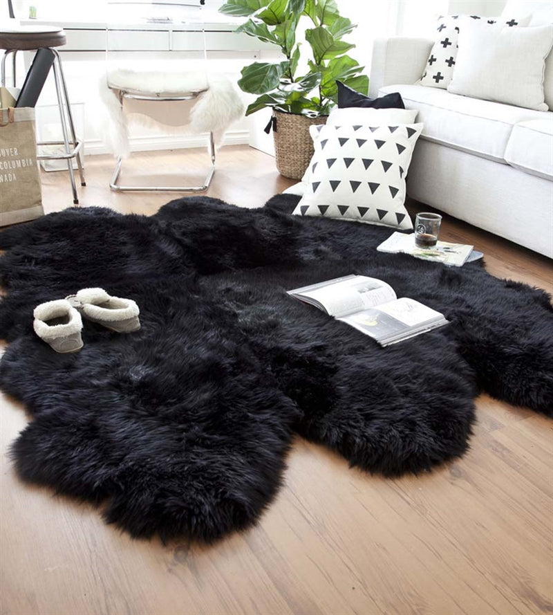 Sheepskin in Black