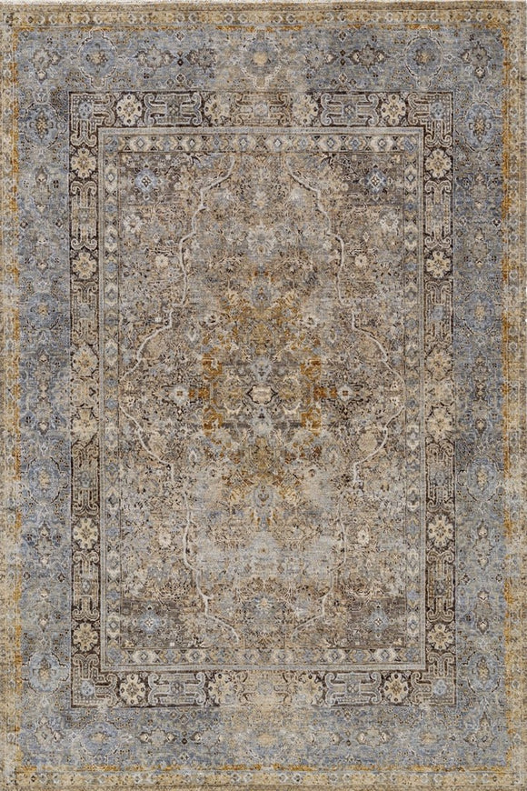 Dalilah in Gold - Modern Rugs LA