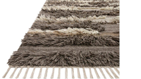 Abbot in Natural Multi - Modern Rugs LA