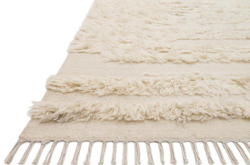 Abbot in Natural Ivory - Modern Rugs LA
