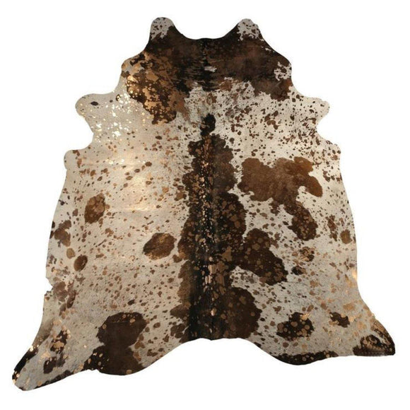 Brazilian Metallic Cowhide