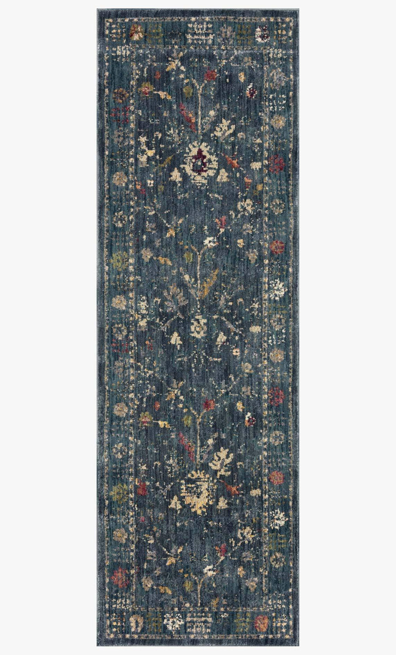 GIADA-06 Denim / Multi - Modern Rugs LA