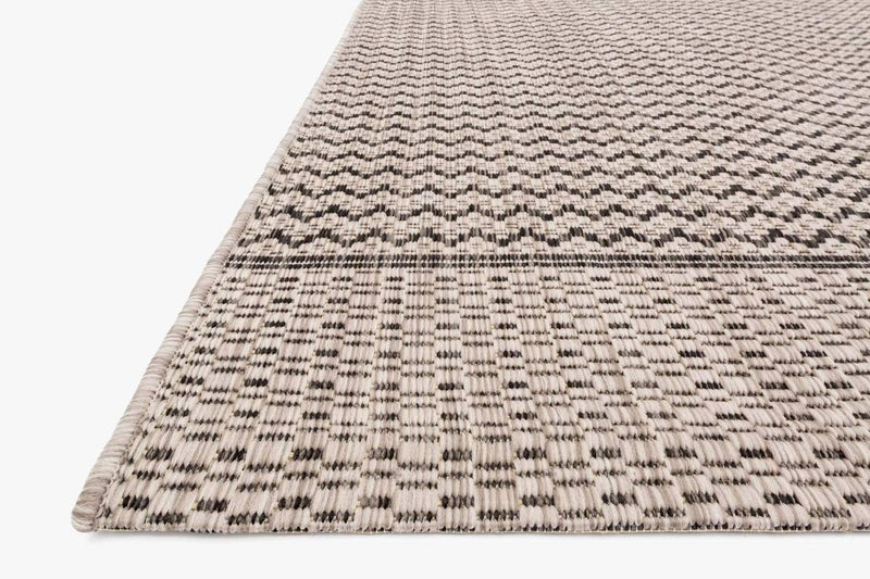 Isle Grey / Black - Modern Rugs LA