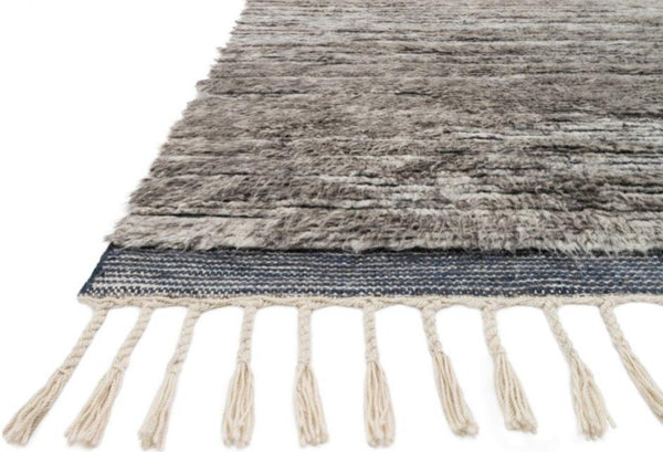 Khalid in Pewter Ink - Modern Rugs LA