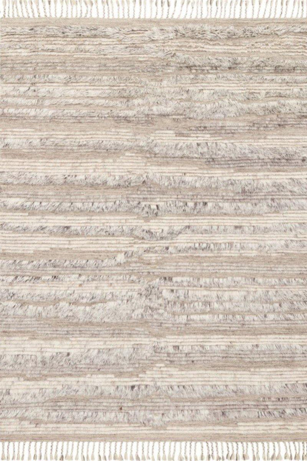 Khalid in Natural Ivory - Modern Rugs LA