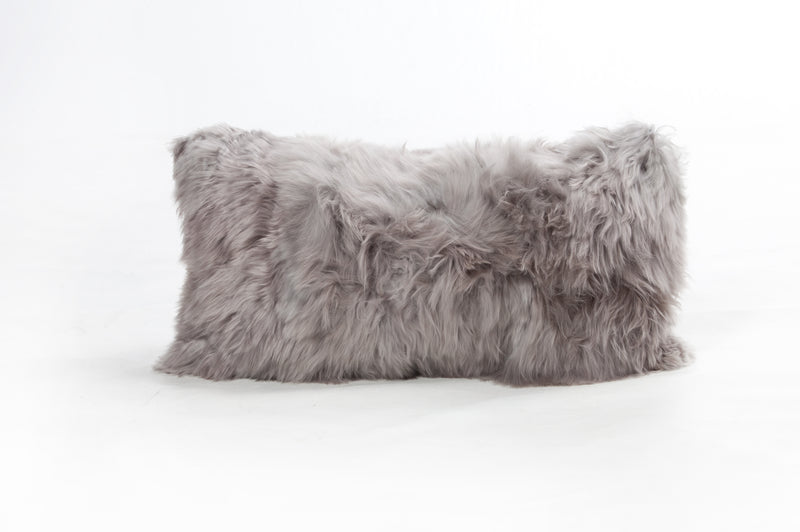 Suri Alpaca Cushions in Grey - Modern Rugs LA
