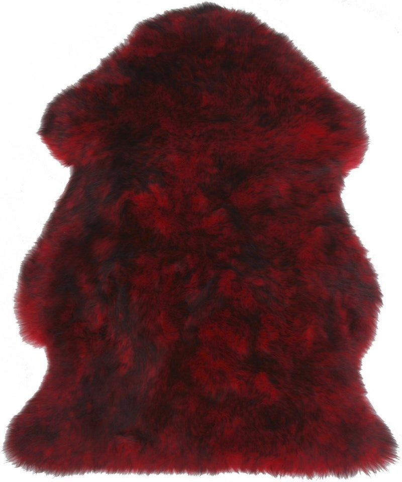 Sheepskin in Chili - Modern Rugs LA
