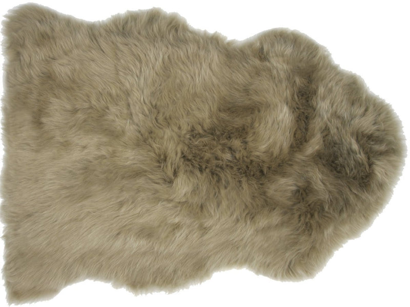 Sheepskin in Khaki