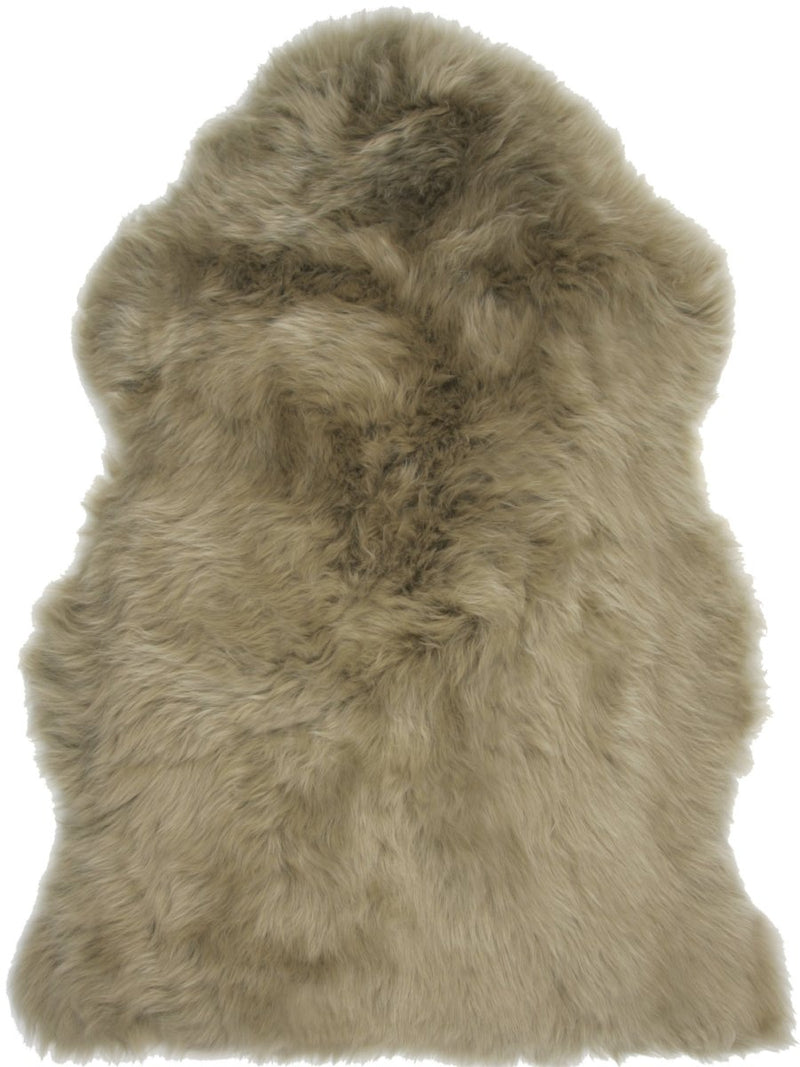 Sheepskin in Khaki - Modern Rugs LA