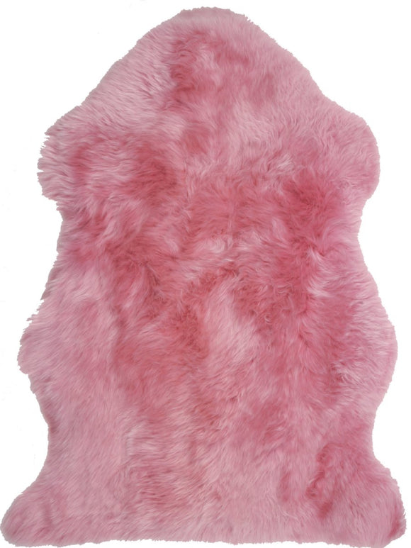 Sheepskin in Magenta - Modern Rugs LA