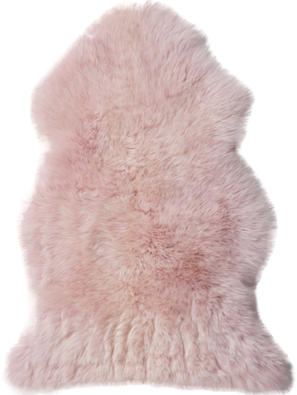 Sheepskin in Powder Rose - Modern Rugs LA