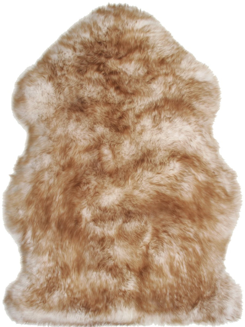 Sheepskin in Sunset - Modern Rugs LA