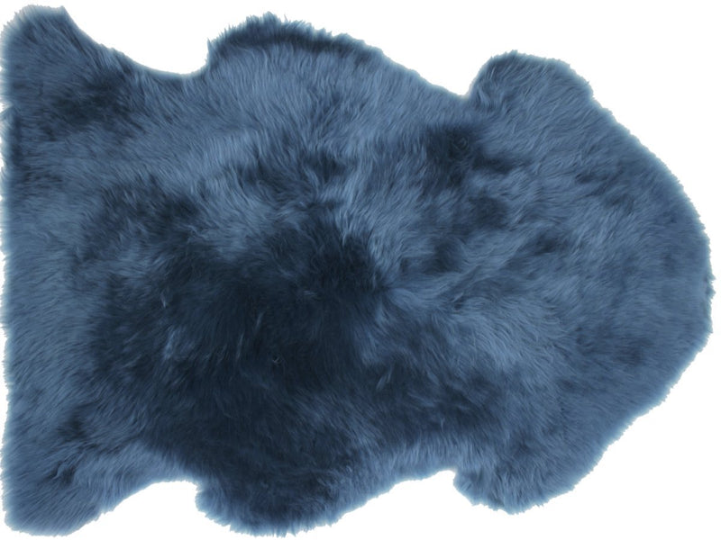 Sheepskin in Teal