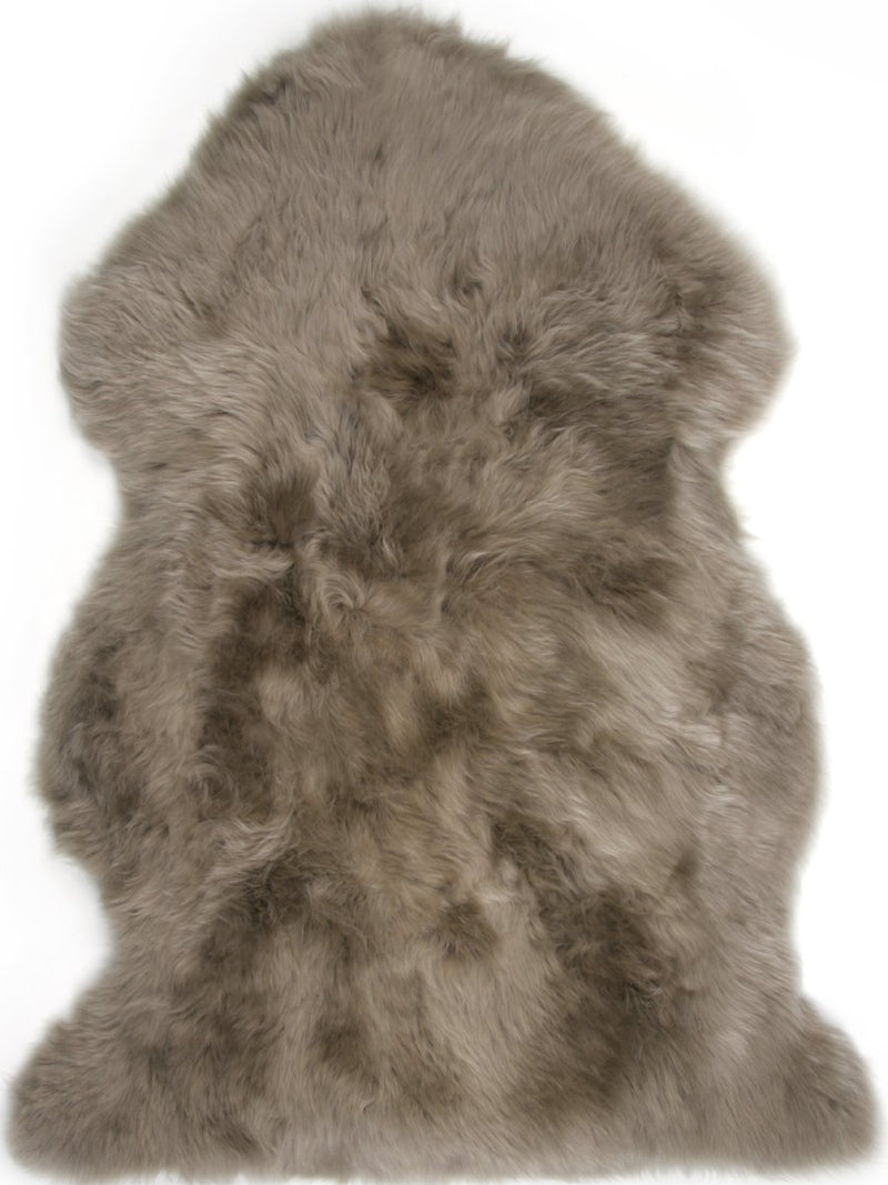 Sheepskin in Taupe - Modern Rugs LA