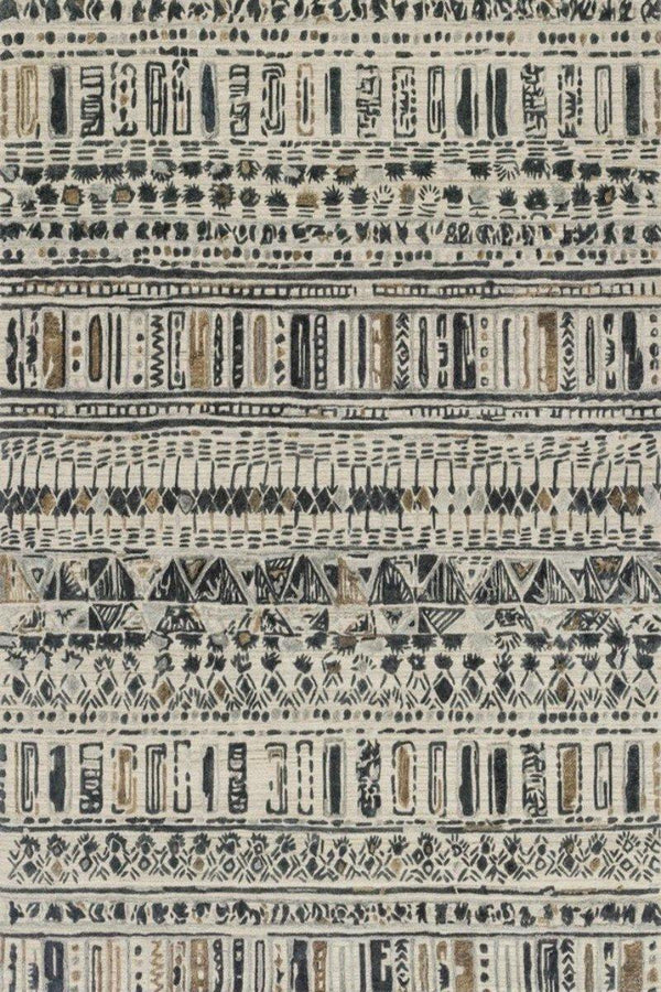 Sojourn in Metal - Modern Rugs LA