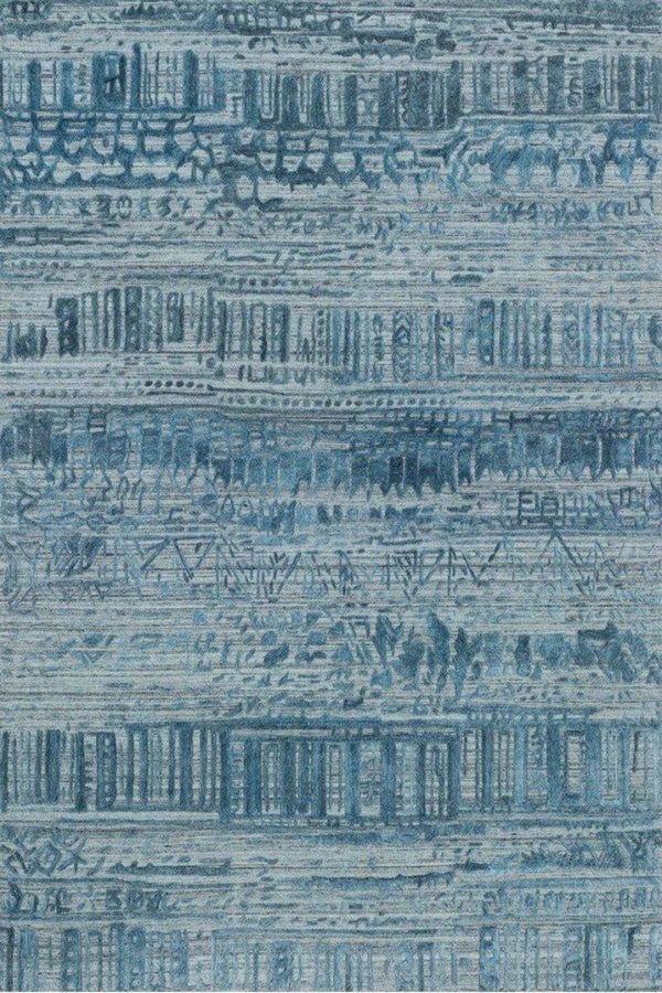 Sojourn in Blue - Modern Rugs LA