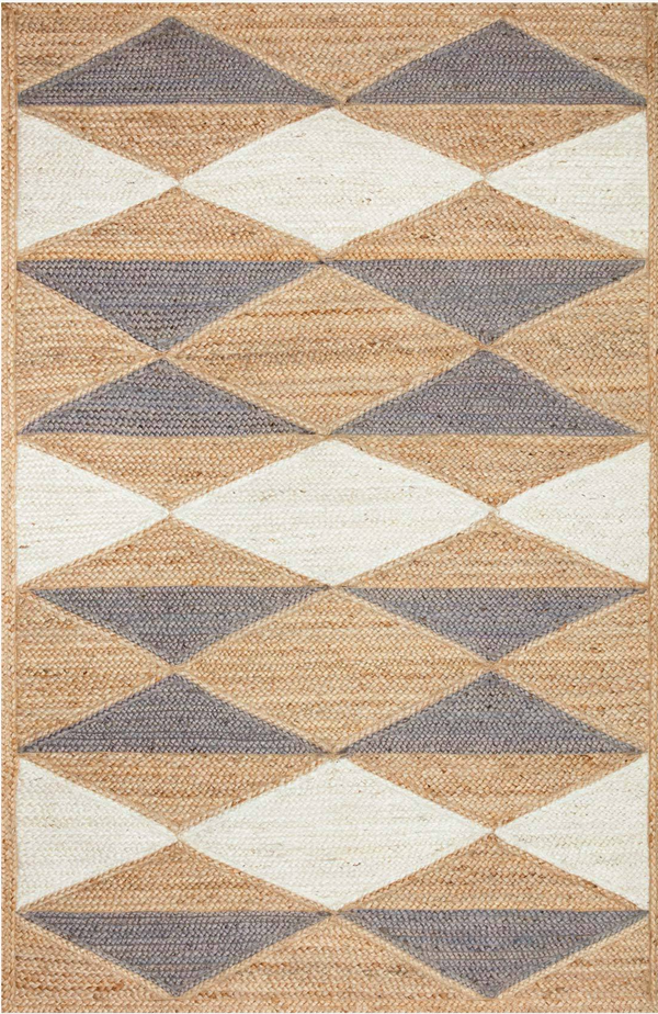 REDONDO-04 ED Natural / Grey - Modern Rugs LA