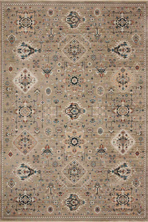 LEIGH-02 Dove / Multi - Modern Rugs LA