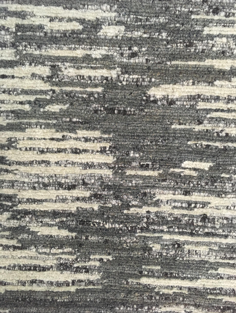 "MARRAKECH ""GRAY / OFF WHITE"" #1204 - Modern Rugs LA"