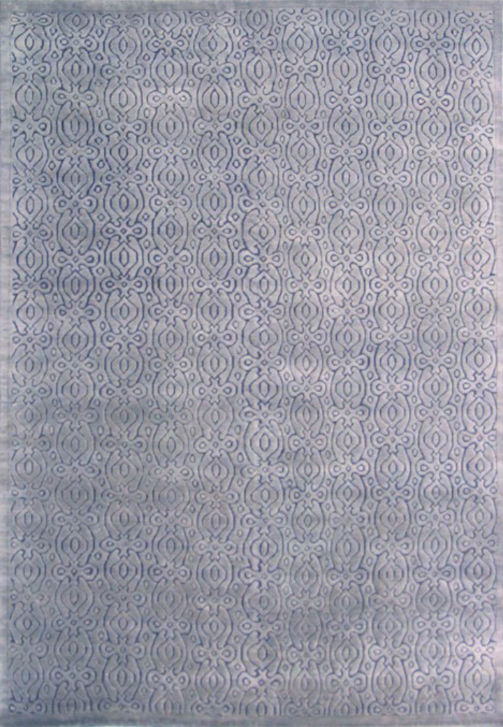 "MARRAKECH ""GRAY / PURPLE"" #125 - Modern Rugs LA"