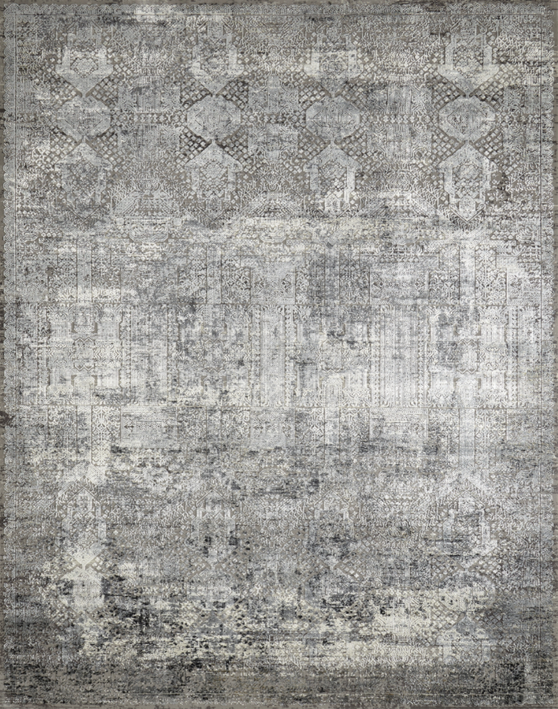 Kingsley Grey Abstract - Modern Rugs LA