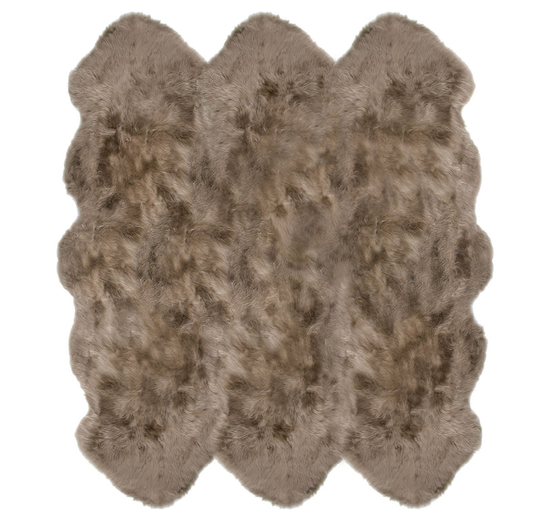 Sheepskin in Taupe