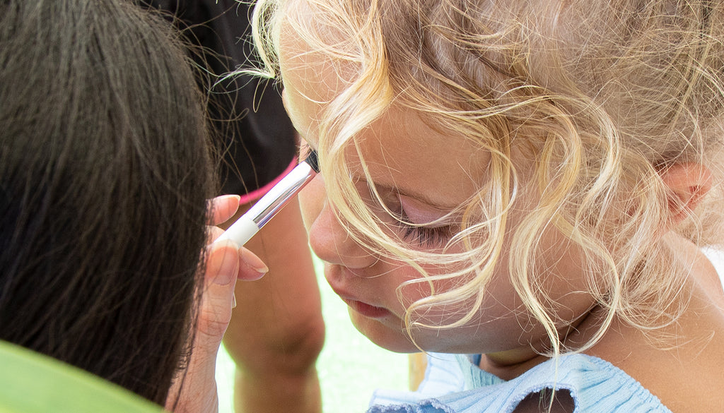 Mini makeovers with petite 'n pretty kids makeup