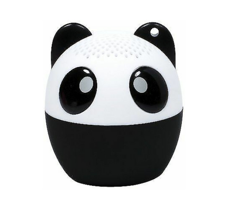 Fun birthday ideas: panda bluetooth speaker gifts for girls and teens