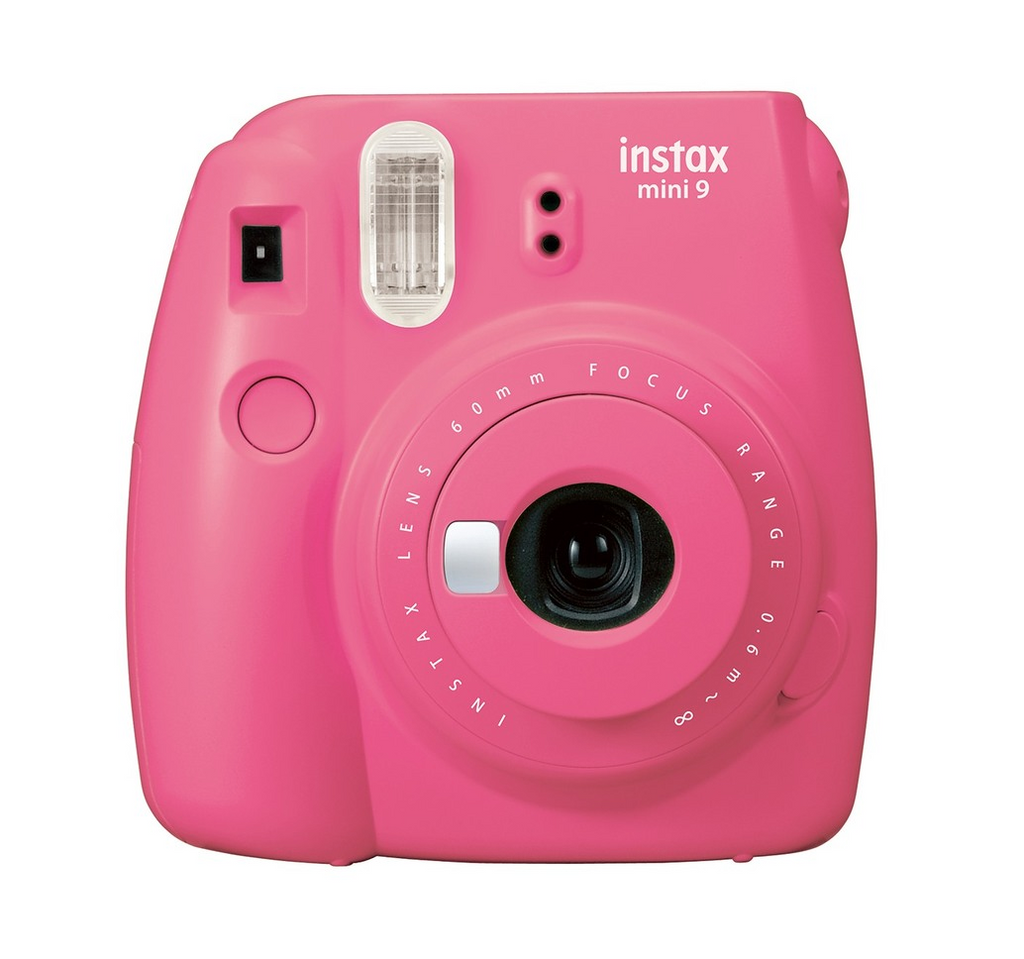 Fun birthday ideas: pink fujifilm instax gifts for girls