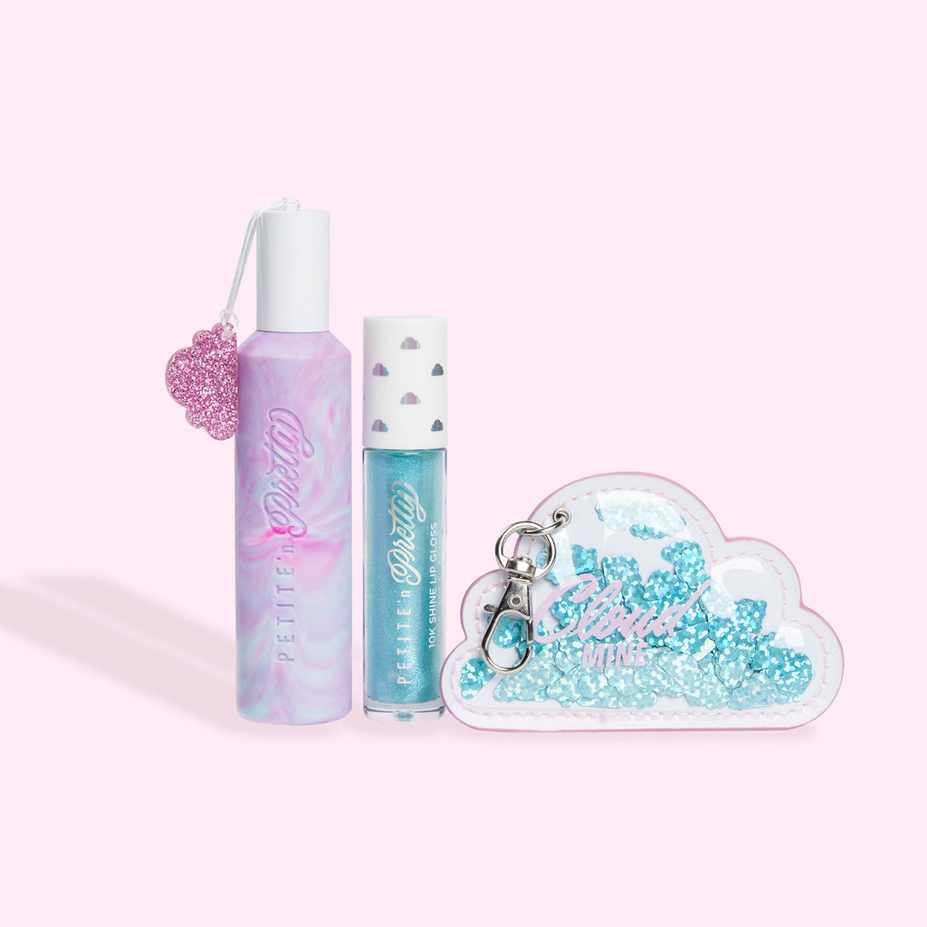 Cloud Mine kids fragrance collection from kids makeup brand Petite n Pretty