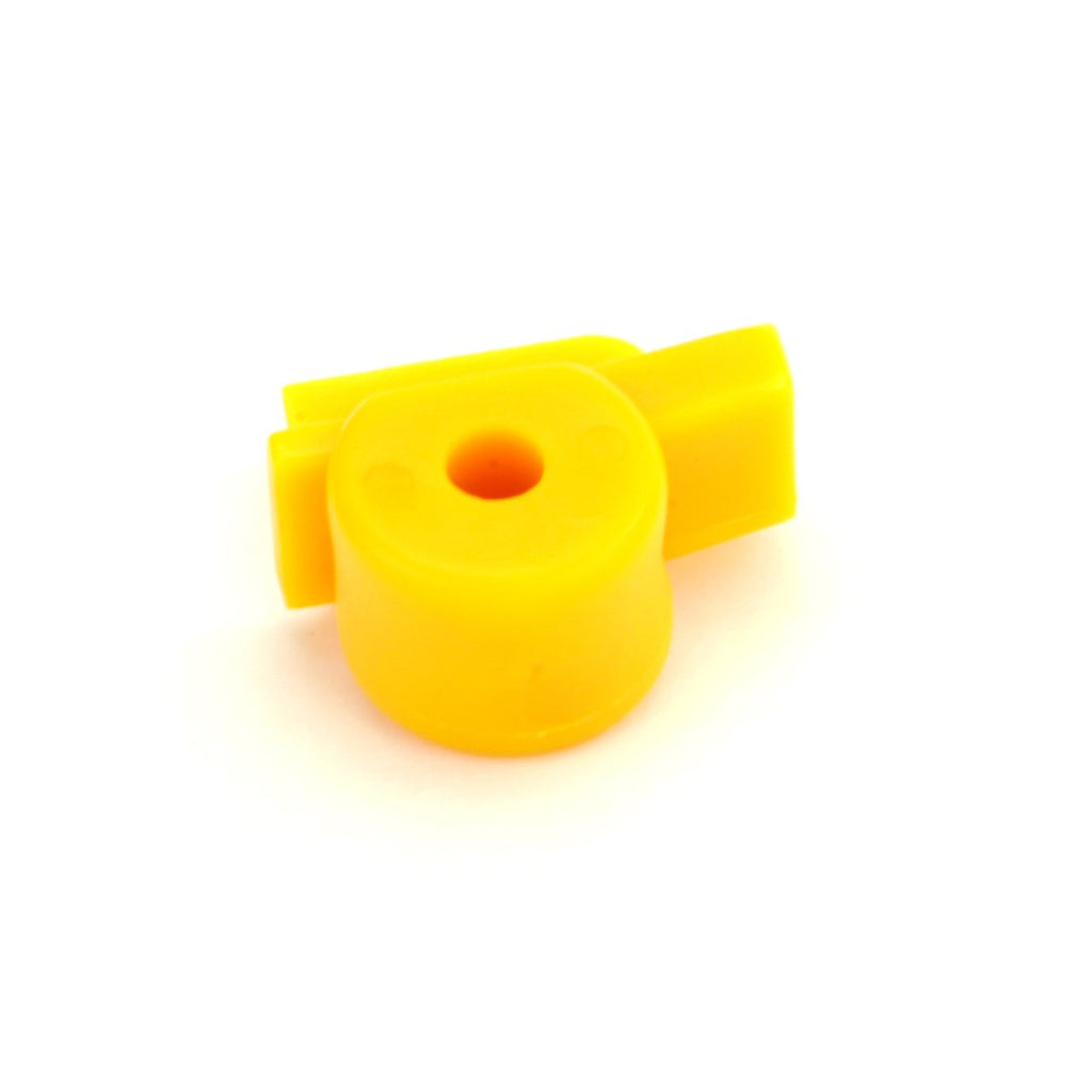 Short Yellow Mount/Demount Head Protector (10 Pack)