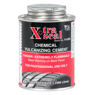 Xtra Seal 8 oz. (236ml) Vulcanizing Cement, Flammable