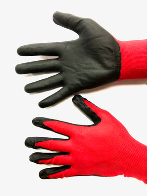 Xtra Seal Nitrile Coated Red Mechanics Glove (Each)