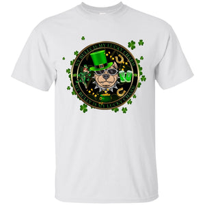 My Bully Is My Lucky Charm Women's St. Patrick's Day T-Shirt