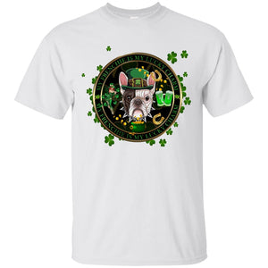 My Frenchie Is My Lucky Charm Men's St. Patrick's Day T-Shirt