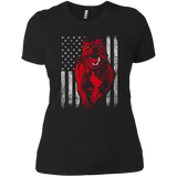 American Bully Flag Women's T-Shirt - PrintMeLLC