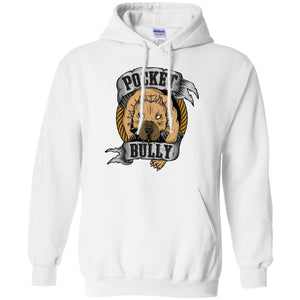 Pocket Bully Adult Unisex Hoodie - PrintMeLLC