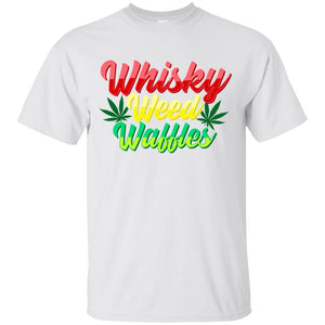 Whiskey Weed Waffles Men's T-Shirt