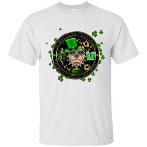 My Bully Is My Lucky Charm Men's St. Patrick's Day T-Shirt