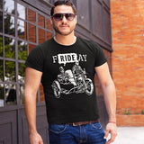 F-Ride-Ay Men's Biker T-Shirt - PrintMeLLC