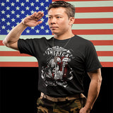 America Nation Of Heroes Military Veteran T-Shirt - PrintMeLLC