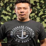 Honor Courage Commitment US Navy T-Shirt - PrintMeLLC